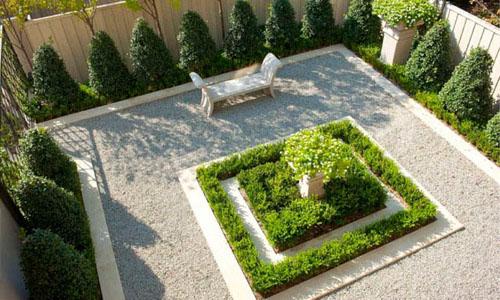 Решение для небольшого дворика