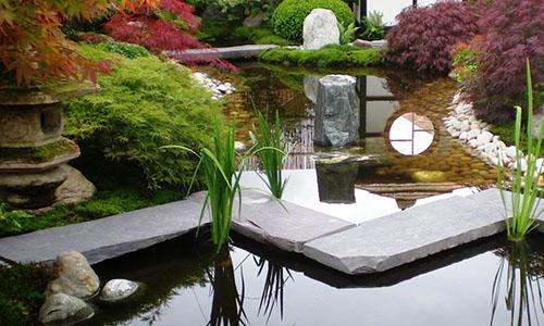 Вода - непременный элемент японского стиля